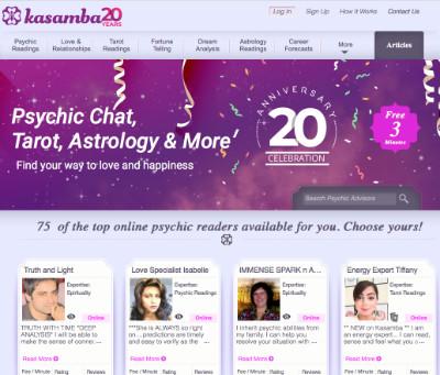 Kasamba's home page